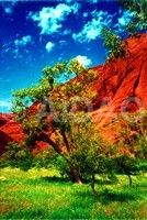 Ayers Rock Resort Australien verkleinert